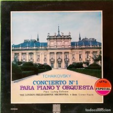 Discos de vinilo: LP TCHAIKOVSKY – CONCIERTO PARA PIANO Y ORQUESTA N.1 ,1970, MOVIEPLAY–110009/2 (VG+_VG+). Lote 183782581