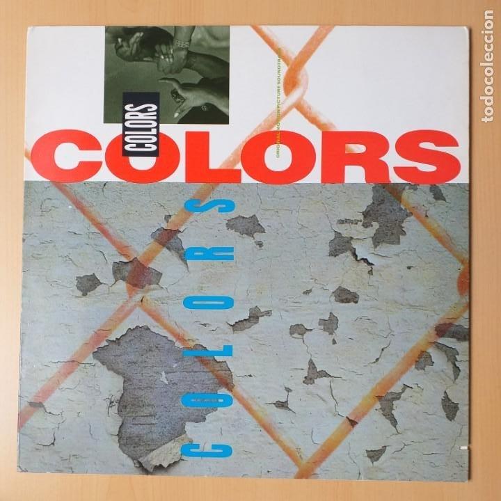 COLORS - BSO. B.S.O. (LP) 1988 ICE-T ERICK B 7A3 SALT-N-PEPA RICK JAMES BID DADDY KANE (Música - Discos - LP Vinilo - Bandas Sonoras y Música de Actores )