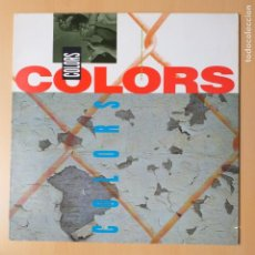 Discos de vinilo: COLORS - BSO. B.S.O. (LP) 1988 ICE-T ERICK B 7A3 SALT-N-PEPA RICK JAMES BID DADDY KANE. Lote 183782727