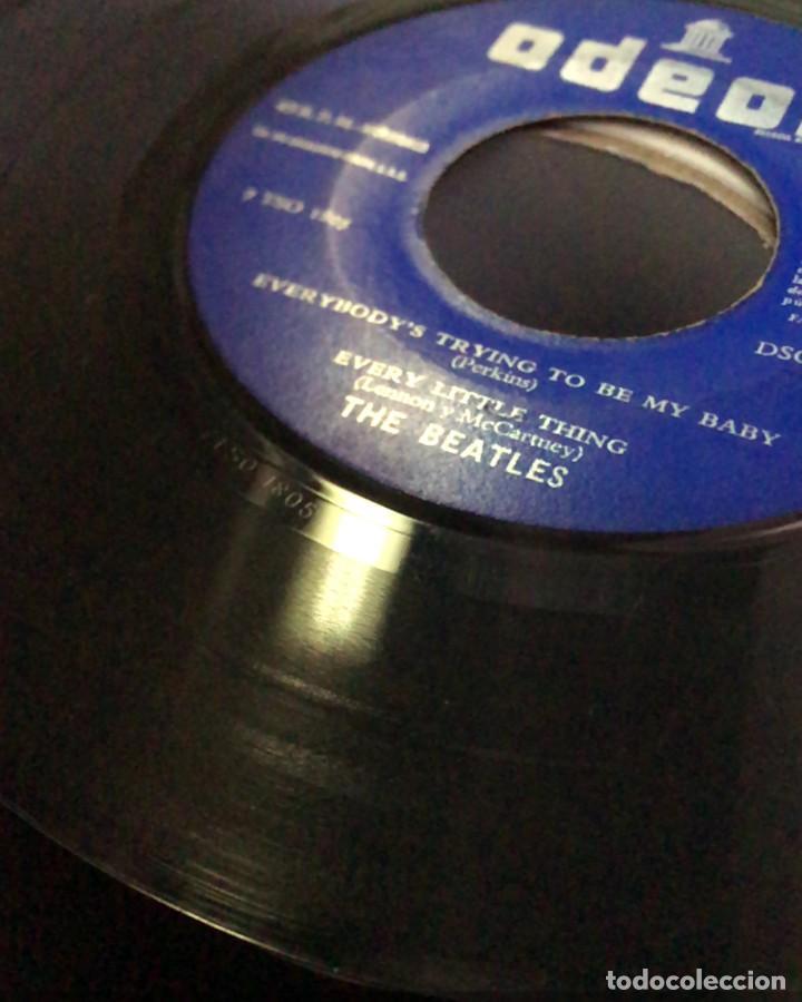 Discos de vinilo: The Beatles – What Youre Doing Odeon  DSOE 16.642 45 RPM, EP Spain 1964 VINILO VG / CARPETA VG - Foto 3 - 183783521