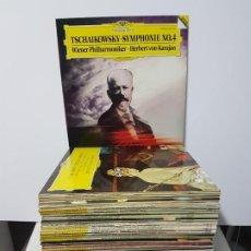 Discos de vinilo: GRAN OFERTA LOTE MUSICA CLASICA DEUTSCHE GRAMMOPHON 100 VINILOS SALIDA 0,01 EUROS !!!!!!. Lote 183783942