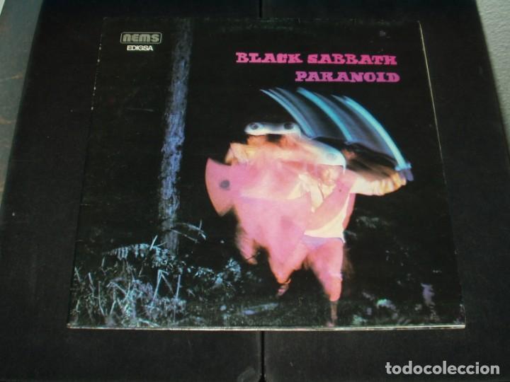 BLACK SABBATH LP PARANOID HEAVY METAL (Música - Discos - LP Vinilo - Heavy - Metal)