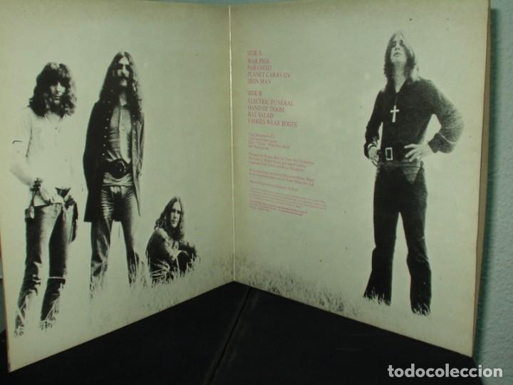 Discos de vinilo: BLACK SABBATH LP PARANOID HEAVY METAL - Foto 2 - 183792673