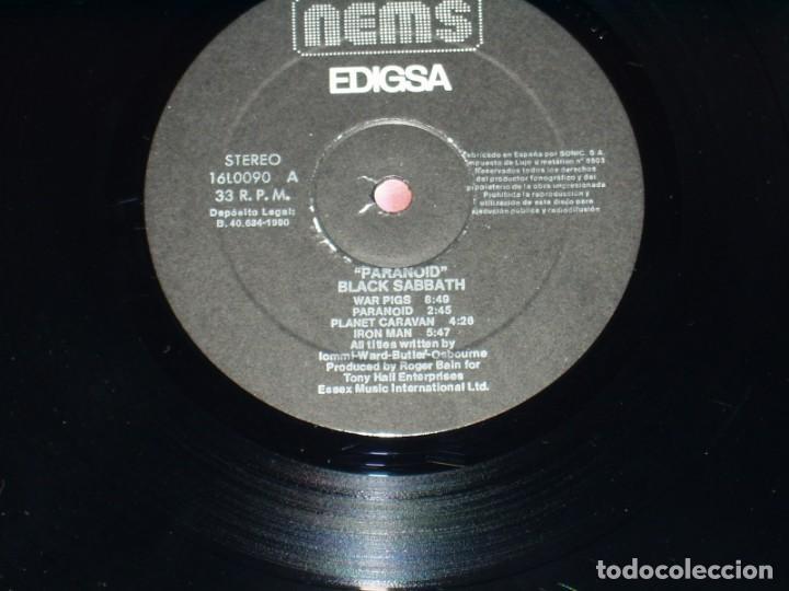 Discos de vinilo: BLACK SABBATH LP PARANOID HEAVY METAL - Foto 4 - 183792673