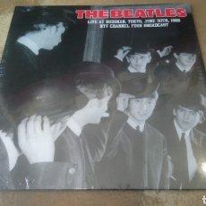 Discos de vinilo: THE BEATLES - LIVE AT BUDOKAN, TOKYO, JUNE 30TH, 1966 NTV CHANNEL FOUR BROADCAST. LP VINILO PRECINT. Lote 183794478