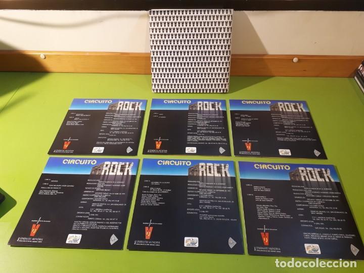 Discos de vinilo: CIRCUITO ROCK 1991 - COLECCIÓN SINGLES - 6 SINGLES - AL ESTE - LEVIATÁN - MALAFAMA - VITAMINA VIL +2 - Foto 2 - 183801755