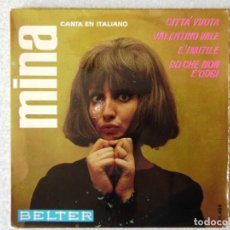 Discos de vinilo: MINA.CITTA VUOTA + 3. Lote 183808952