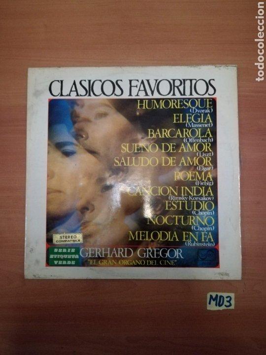 CLÁSICOS FAVORITOS GERHART GRIGOR (Música - Discos - LP Vinilo - Bandas Sonoras y Música de Actores )