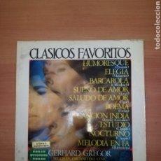 Discos de vinilo: CLÁSICOS FAVORITOS GERHART GRIGOR. Lote 183815733