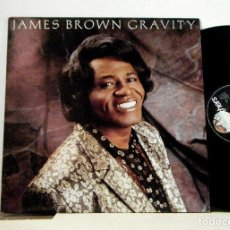 Discos de vinilo: JAMES BROWN - GRAVITY !! STEVIE RAY VAUGHAN, MACEO PARKER, KILLER GROOVE FUNKY, EDIT USA, IMPECABLE. Lote 183817626