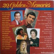 Discos de vinilo: 20 GOLDEN MEMORIES, MASTERS MA 16287. Lote 183818145