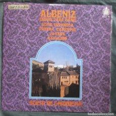 Discos de vinilo: ALBENIZ. OBRAS PARA PIANO. ALICIA DE LARROCHA. HISPAVOX, HH 10 86. ESPAÑA, 1968.. Lote 183818353