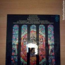 Discos de vinilo: HANDEL MESSIAH. Lote 183822660