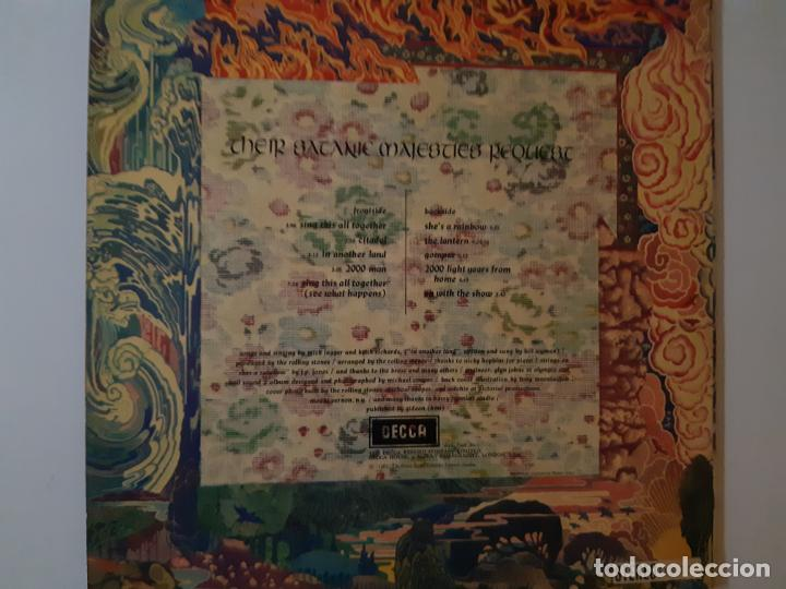 Discos de vinilo: THE ROLLING STONES-THEIR SATANIC MAJESTIES REQUEST-UK ORIG. STEREO 1967-LENTICULAR-GREEN LABEL. - Foto 2 - 183827517