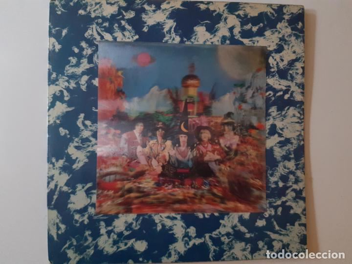 THE ROLLING STONES-THEIR SATANIC MAJESTIES REQUEST-UK ORIG. STEREO 1967-LENTICULAR-GREEN LABEL. (Música - Discos - LP Vinilo - Pop - Rock Extranjero de los 50 y 60)
