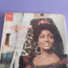 Discos de vinilo: JOYA CAJA. BIZET CARMEN, SELLO ETERNA 8 26 940 942 . MADE IN GERMANY.3 LPS. . Lote 183827603