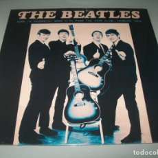 Discos de vinilo: THE BEATLES - WORK IN PROGRESS .. MORE HITS FROM THE STAR CLUB - 1962 LIMITADO . SOLO 500 COPIAS. Lote 183830395