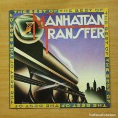 Discos de vinilo: MANHATTAN TRANSFER - THE BEST OF - LP. Lote 183830695