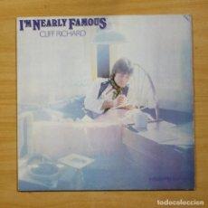 Discos de vinilo: CLIFF RICHARD - I´M NEARLY FAMOUS - LP. Lote 183831246