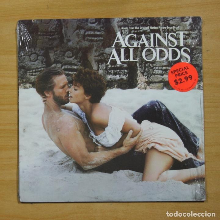 VARIOS - AGAINST ALL ODDS - LP (Música - Discos - LP Vinilo - Bandas Sonoras y Música de Actores )