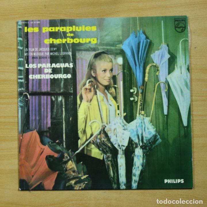VARIOS - LOS PARAGUAS DE CHERBOURGO - LP (Música - Discos - LP Vinilo - Bandas Sonoras y Música de Actores )