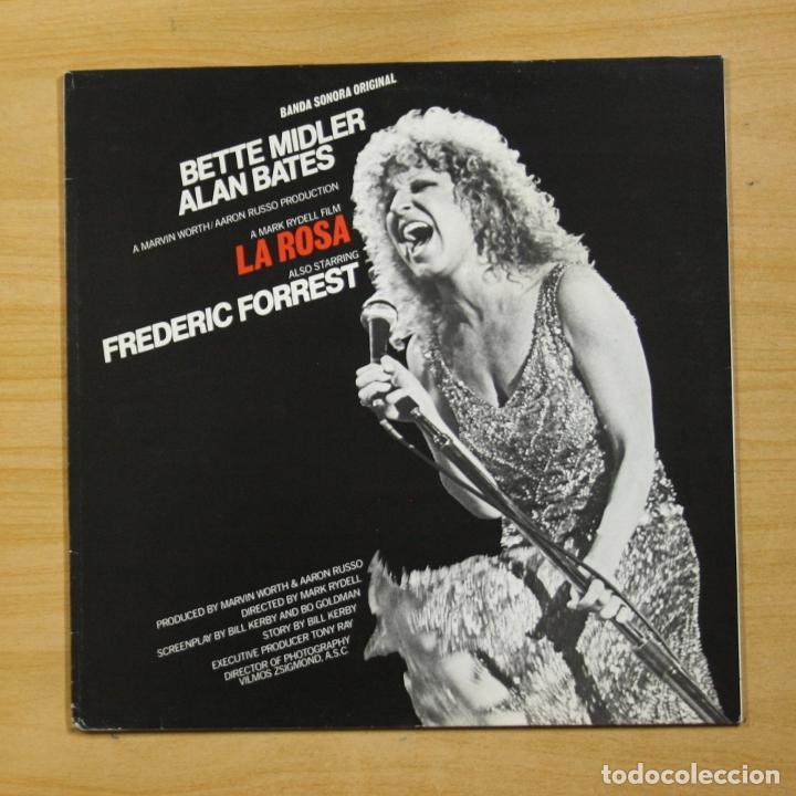 BETTE MIDLER - LA ROSA - LP (Música - Discos - LP Vinilo - Bandas Sonoras y Música de Actores )