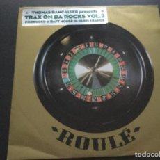 Discos de vinilo: THOMAS BANGALTEN - TRAX ON DA ROCKS . Lote 183832383