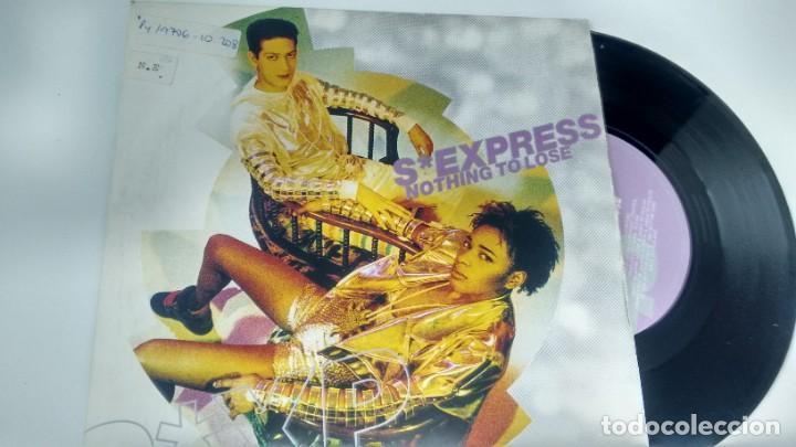 SINGLE ( VINILO) DE S-EXPRESS AÑOS90 (Música - Discos - Singles Vinilo - Pop - Rock Extranjero de los 90 a la actualidad)