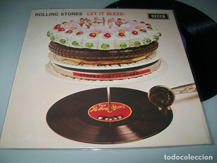 THE ROLLING STONES - LET IT BLEED ...LP DE DECCA - ORIGINAL DE 1969 ..U.K - MUY BUEN ESTADO (Música - Discos - LP Vinilo - Pop - Rock Extranjero de los 50 y 60)