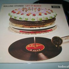 Discos de vinilo: THE ROLLING STONES - LET IT BLEED ...LP DE DECCA - ORIGINAL DE 1969 ..U.K - MUY BUEN ESTADO. Lote 183834832