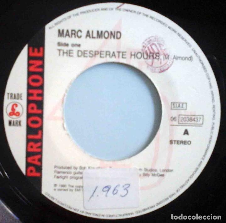 Discos de vinilo: Marc Almond - The desperate hours / The gambler - Foto 3 - 183835751