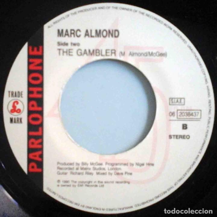Discos de vinilo: Marc Almond - The desperate hours / The gambler - Foto 4 - 183835751