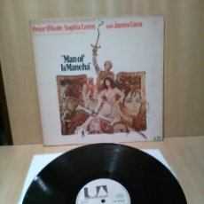 Discos de vinilo: MAN OF LA MANCHA, MITCH LEIGH, JOE DARION.. Lote 183836780