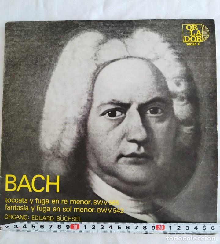 BACH - TOCATA Y FUGA (Música - Discos de Vinilo - Maxi Singles - Clásica, Ópera, Zarzuela y Marchas)