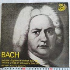 Discos de vinilo: BACH - TOCATA Y FUGA. Lote 183842896