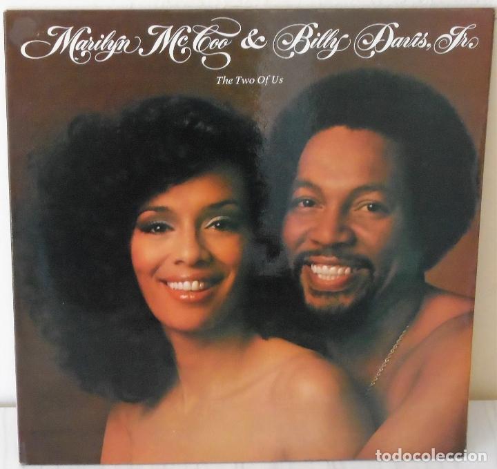 MARILYN MCCOO & BILLY DAVIS JR. - THE TWO OF US A B C - 1977 GAT (Música - Discos - LP Vinilo - Funk, Soul y Black Music)
