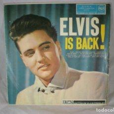 Discos de vinilo: ELVIS PRESLEY - ELVIS IS BACK! - RCA 3L10135 - ESPAÑA 1960 - PRIMERA EDICIÓN. Lote 183844502