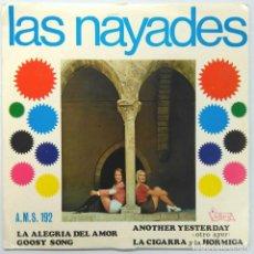 Discos de vinilo: LAS NÁYADES -LA ALEGRÍA DEL AMOR -ANOTHER YESTERDAY -GOOSY SONG -LA CIGARRA Y LA HORMIGA. Lote 183844953