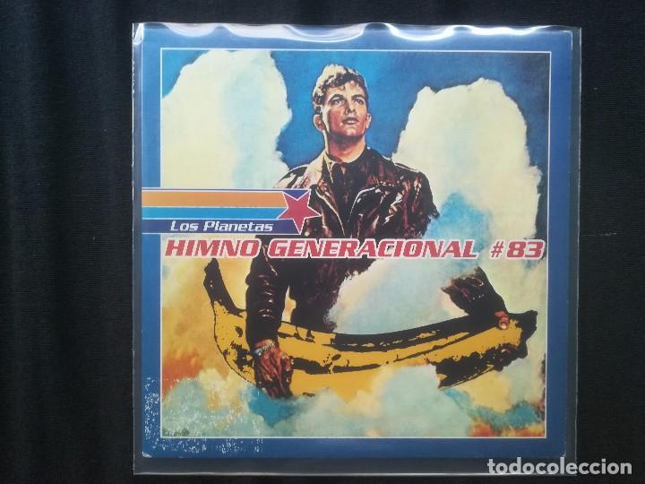 LOS PLANETAS - HIMNO GENERACIONAL #83 (Música - Discos - Singles Vinilo - Grupos Españoles de los 90 a la actualidad)