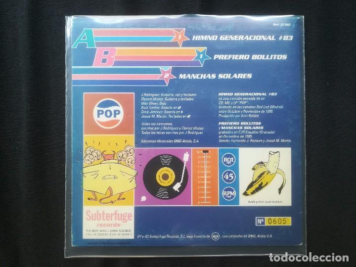 Discos de vinilo: LOS PLANETAS - HIMNO GENERACIONAL #83 - Foto 2 - 183845446