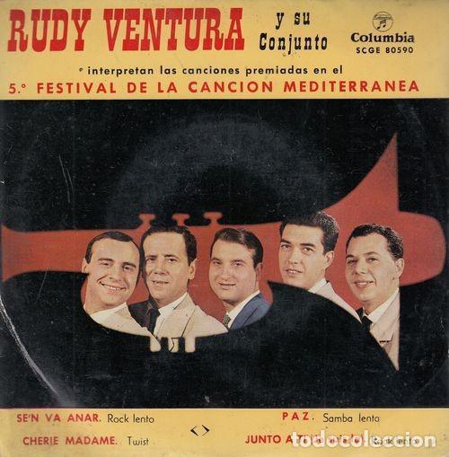 RUDY VENTURA - SE'N VA ANAR - EP DE VINILO # (Música - Discos de Vinilo - EPs - Grupos Españoles 50 y 60)