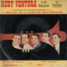 Discos de vinilo: RUDY VENTURA - SE'N VA ANAR - EP DE VINILO #. Lote 183846223