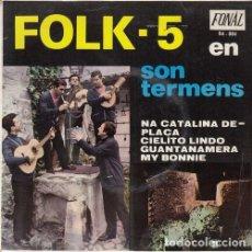 Discos de vinilo: FOLK 5 - EN SON TERMENS MALLORCA - EP DE VINILO #. Lote 183846412
