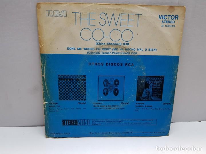 Discos de vinilo: SINGLE-THE SWEET-CO CO en funda original año 1971 - Foto 2 - 183848860