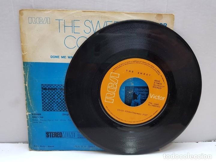 Discos de vinilo: SINGLE-THE SWEET-CO CO en funda original año 1971 - Foto 3 - 183848860