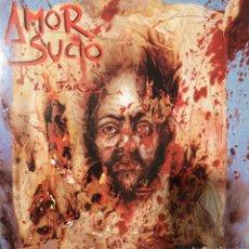 Discos de vinilo: AMOR SUCIO - LA FARSA - ESTADO ESPECTACULAR - CON EL ENCARTE DE LAS LETRAS. Lote 183848887