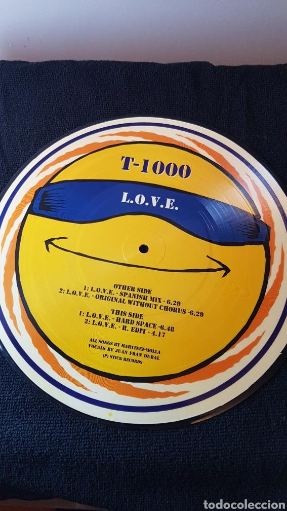 Discos de vinilo: T-1000...L.O.V.E. - Foto 2 - 183849071