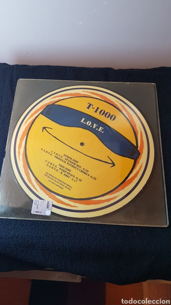 T-1000...L.O.V.E. (Música - Discos de Vinilo - EPs - Disco y Dance)