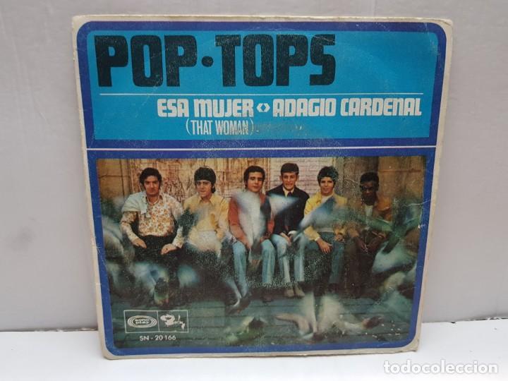 SINGLE-POP TOPS-THAT WOMAN EN FUNDA ORIGINAL AÑO 1968 (Música - Discos - Singles Vinilo - Pop - Rock - Internacional de los 70)