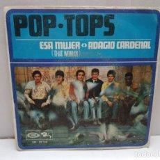 Discos de vinilo: SINGLE-POP TOPS-THAT WOMAN EN FUNDA ORIGINAL AÑO 1968. Lote 183849457
